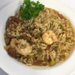 Take & Bake Jambalaya with Shrimp, Chicken & Andouille Sausage