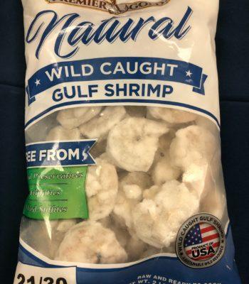 peeled gulf shrimp