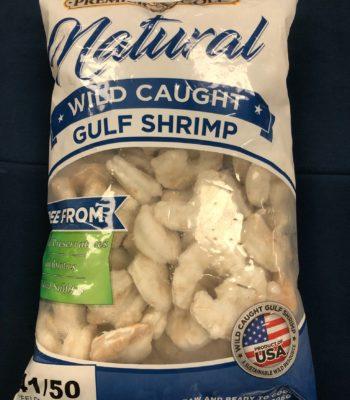 gulf peeled shrimp