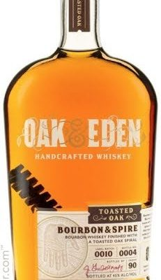 Oak & Eden Toasted Oak Bourbon & Spire