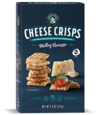 romano cheese crisps