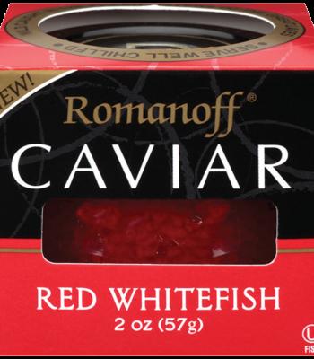 red whitefish caviar